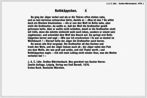 Rotkaeppchen – J. A. C. Loehr. Grosses Maerchenbuch (Seite 4)