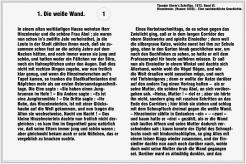 Die weisse Wand – Theodor Storm (Seite 1)