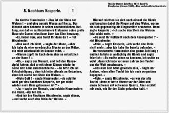 Nachbars Kasperle – Theodor Storm (Seite 1)